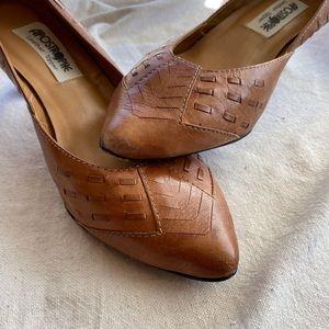 Vintage Leather High Heels